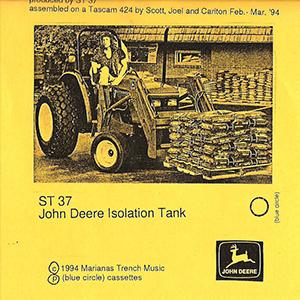 john deere isolation tank